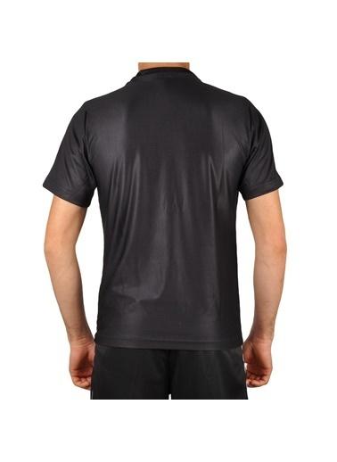 Walkway Line Tişört Füme-Gri Erkek Tişört Siyah